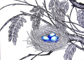 Birds #2 by Calealdarone