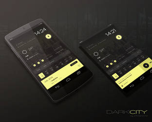 Dark City Theme by marcco23