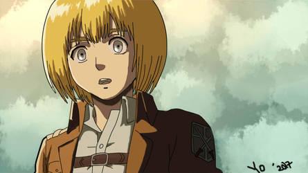 Armin arlert by Dayumbruh