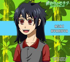 Asai Hyakuya : Ons OC by Dayumbruh