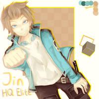 Yuichi Jin fanart by Yorunee