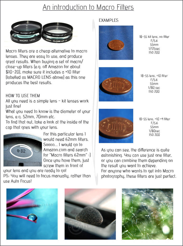 An Intro to Macro Filters by Jules1983