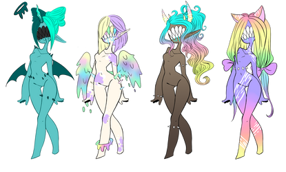 Discount pp/points Sassy Licker Adopts CLOSED by XenoBaby