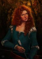 Princess Merida by sithness