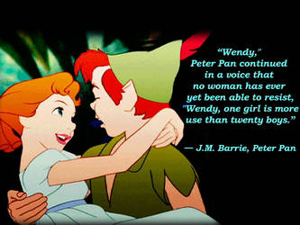 Cute  Peter Pan Quote by JessiPan