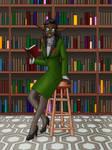 Zentha the Head Librarian (Art by Dvega) by Master-Geass