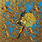 Queen Cyvespa Swarm by Dvega by Master-Geass