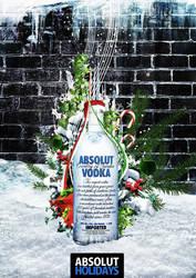Absolut Vodka - Holidays Ad by janvanlysebettens