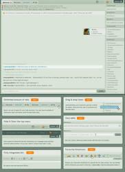 dAmn redesign 0.2 by janvanlysebettens