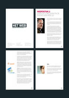 Editorial Design: Scriptie by janvanlysebettens