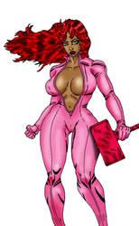 the pink hammer by ARTISTBAKER2011