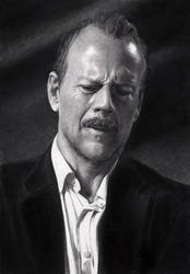 Bruce Willis by EgorMisanthropy