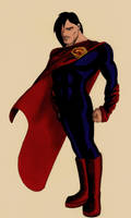 Superman by Mathewism