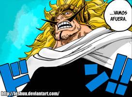 One Piece 832 - Vinsmoke Jajji by LESHUU
