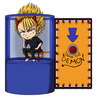 ES21 - Dunk the Demon by ox-Honey-Bee-xo