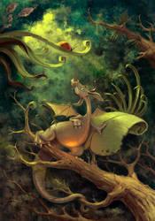 Draco Arborea -parvus- by walachnia