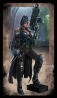Warhammer 40k - Rogue Trader - Lorayne by TheFirstAngel