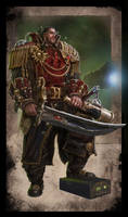 Warhammer 40k - Rogue Trader - Savrus Trask by TheFirstAngel