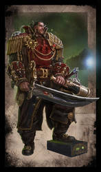 Warhammer 40k - Rogue Trader - Savrus Trask by TheFirstAngel