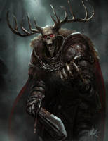 The Horned King - Accursed RPG by TheFirstAngel