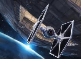 StarWars - Winged Gundark by TheFirstAngel