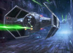 Star Wars -  Darth Vader by TheFirstAngel