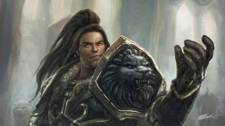 King Varian Wrynn - Summon our Champions by TheFirstAngel
