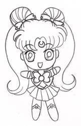 Chibi Sailor Moon by pandy0