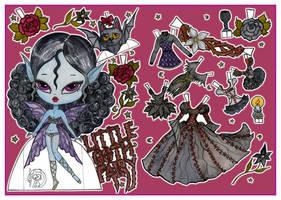 Little goth fairy by Mauau