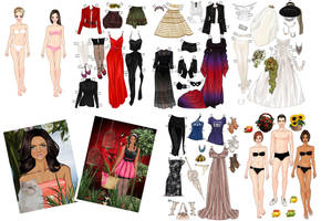 Paper dolls by Mauau