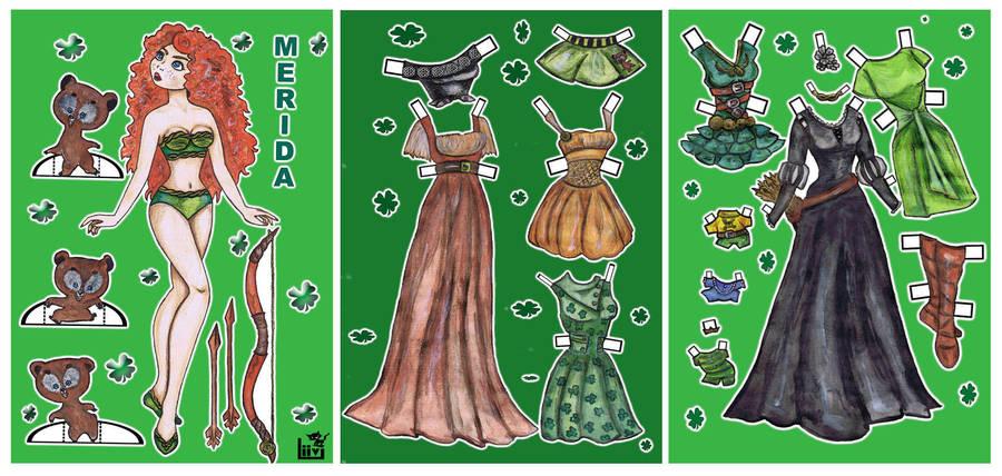 Brave Merida by Mauau