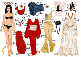 Roiworld paper doll by Mauau