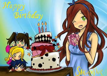 Happy Birthday Onichan! by sakuraaflor