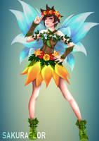 Fairy Tracer by sakuraaflor