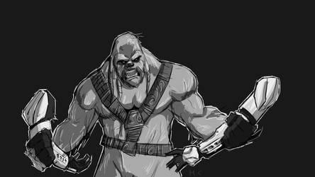 Wookiee Rage! by Melvin-Groenendijk