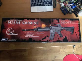 ASG Armalite M15A4 Carbine SLV #1 by thetnknownbrony