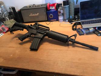 ASG Armalite M15A4 Carbine SLV #3 by thetnknownbrony