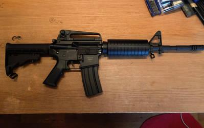 ASG Armalite M15A4 Carbine SLV #4 by thetnknownbrony