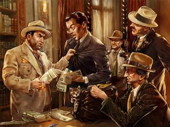 Al Capone by TamasGaspar