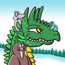 Appreciate A Dragon 2019 by markbredius