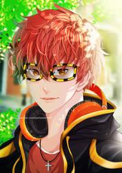 [Fanart] 707 _ Mystic Messenger by gyomura19