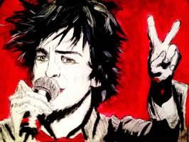 Billie Joe Armstrong Peace by cici1000