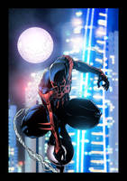 Spider Man 2099 by chrismichaels