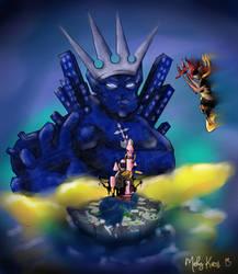 Kingdom Hearts -Commission- by MakyKaos
