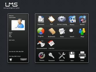 LMS GUI User cpanel by hammadmalik