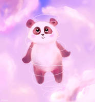 angel panda by batoriii