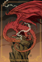 red dragon by xilrion