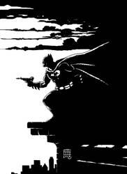 bat guy by xilrion