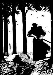 Samurai mercy by xilrion