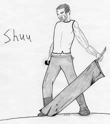 Shuu the Warrior Shepherd by SMS00